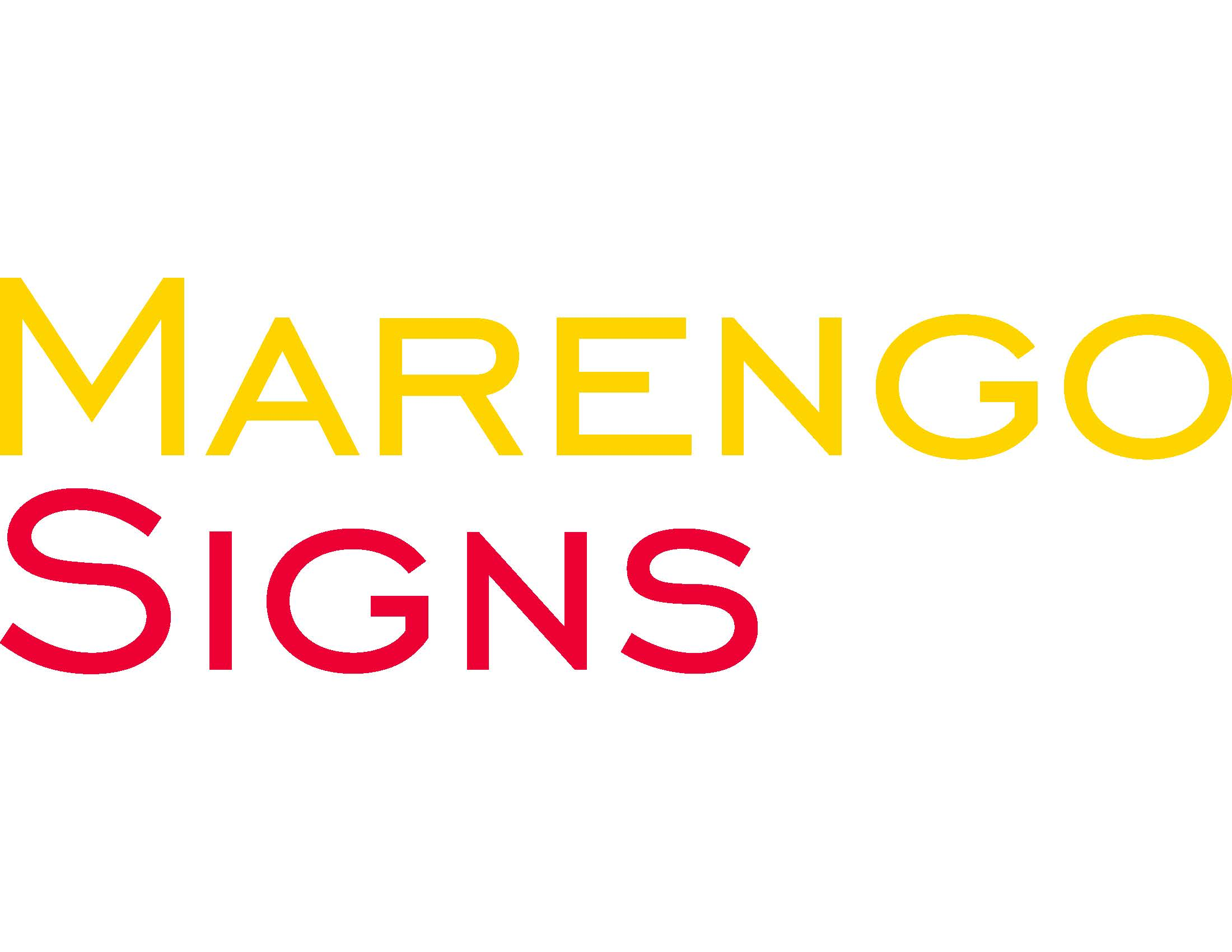 Marengo Signs Logo